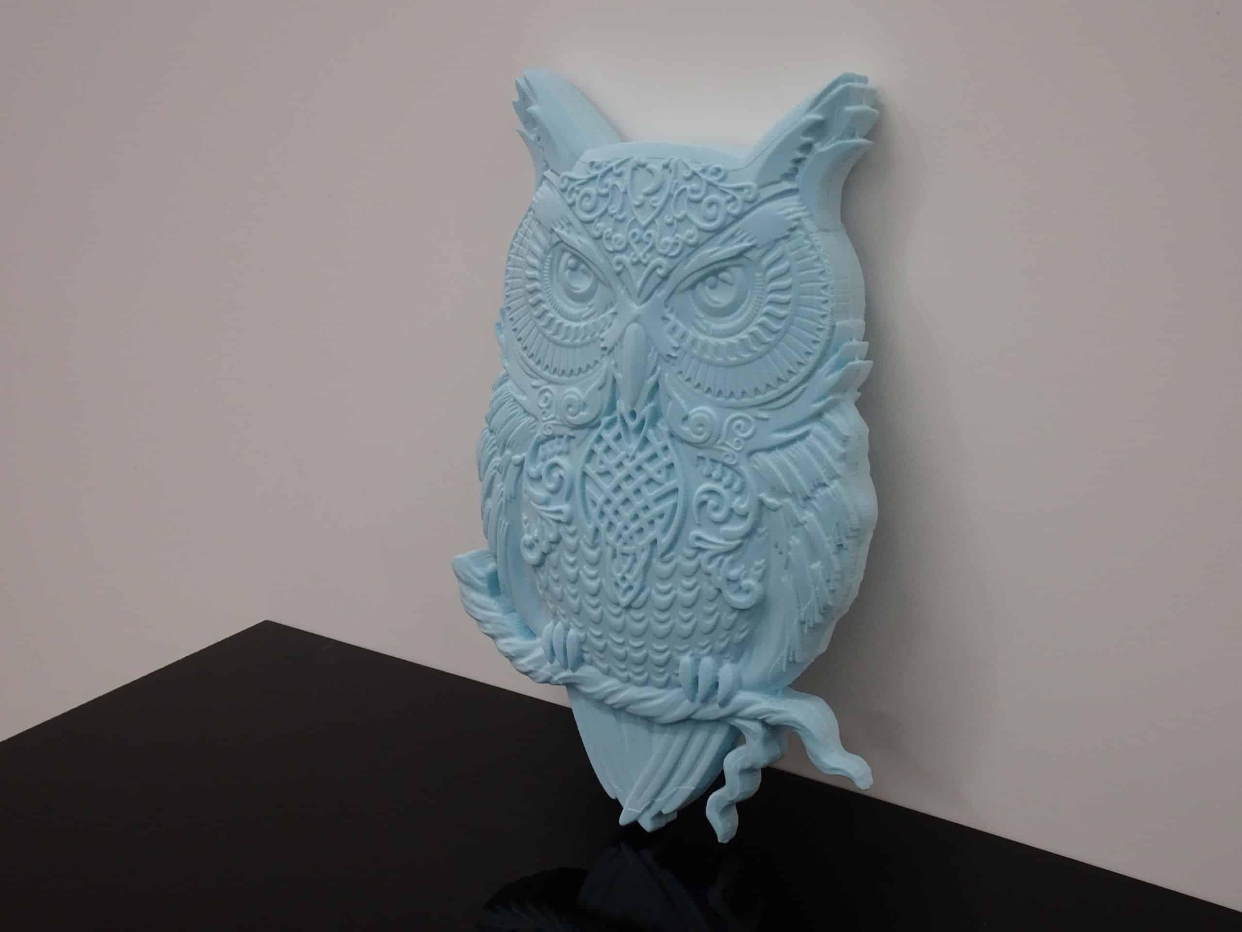 CNC Router Owl