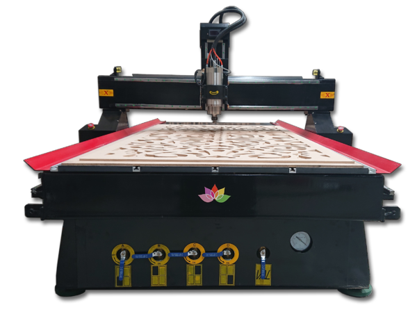 CNC Router with knife