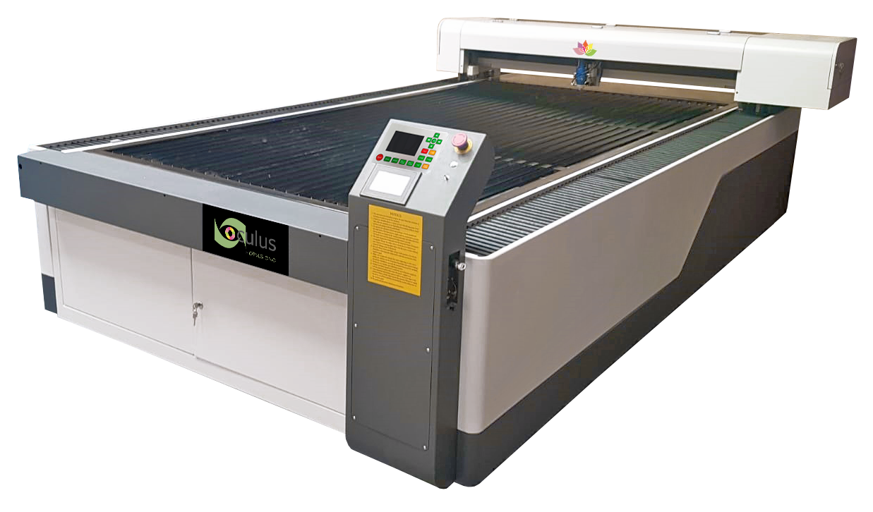 The Oculus Chrome (Metal/Non Metal) laser is suitable for many media, from stainless steel to acrylic to MDF and Ply wood.