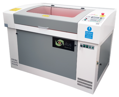 The Oculus free-standing laser cutter machine is our medium size range of laserengraving/cutting machine.