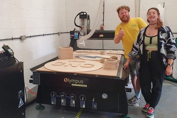Woodworking and carpenters and kitchen cabinets to staircase are bringing production in-house with the Olympus CNC.