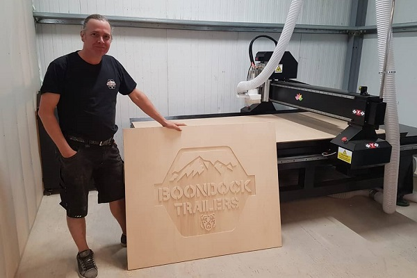 The Olympus CNC router is a perfect choice for cutting ply for kitting out vans and camper conversions.