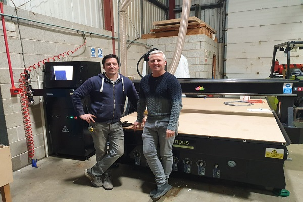 Prototypes can be made in-house with this powerful entry-level CNC router.