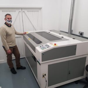 Design and Technology department favour the Oculus laser machine for ease of use.