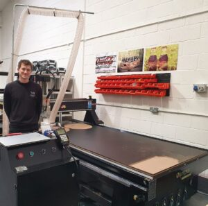 Ply-lining and campervan conversions are one of the most popular industries using the Olympus ATC CNC router.