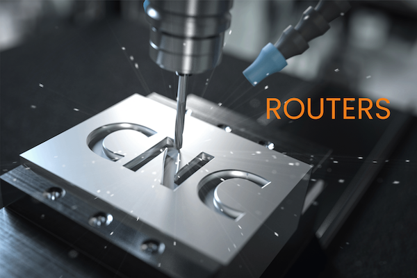 CNC Routers Drilled