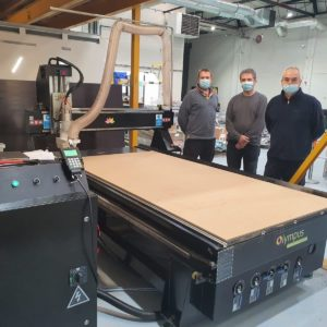 Prototypes can be processed easily and accurately with wood, modelboard, MDF, aluminium and many more.