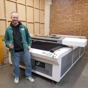 MDF and ply are just some of material which are perfect on this large format laser cutting machine.