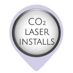 Once in position, the Oculus CO2 laser machine installations have a much quicker turnaround than CNC routers. They also only require a household socket. During the installation, our engineer can explain to you how to replace the tube for future reference and also explain the importance of mirror and lens alignment.