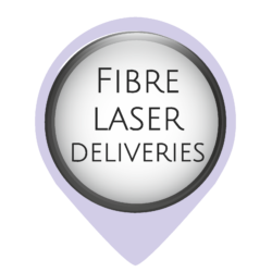 The full range of Oculus Fibre and Oculus Metal/Non-Metal laser cutting machines are delivered by a curtainsider. Therefore, a forklift will need to be onsite to offload the laser. We are able to organise a hiab delivery when a forklift is unavailable, but this will incur an additional cost. The cost will vary on location.