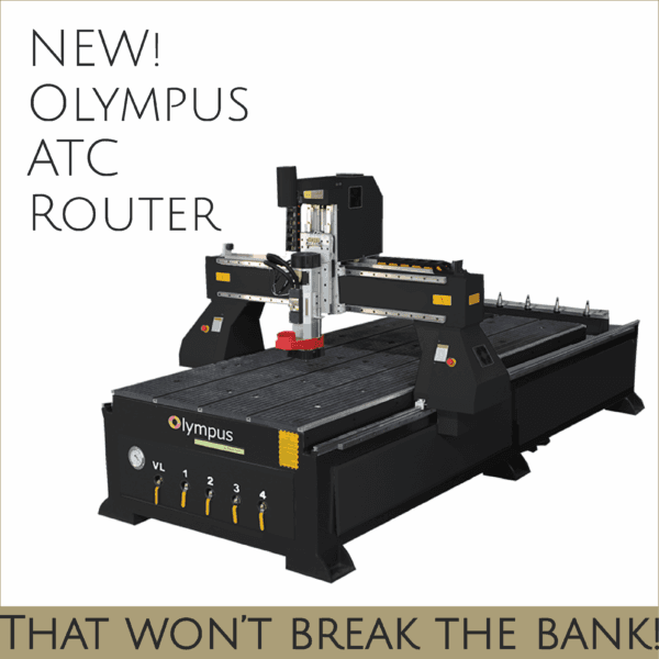 New! Olympus ATC Router