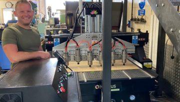 Olympus Multihead CNC Router